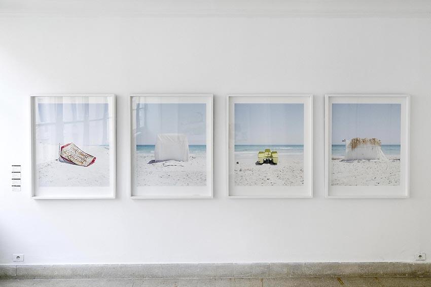 """Exposition photo extraite du livre """"Nomad's Land"""" de Yoann Cimier à la galerie Le32bis à Tunis"""